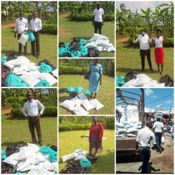 Lebensmittel Spendenaktion Omutima